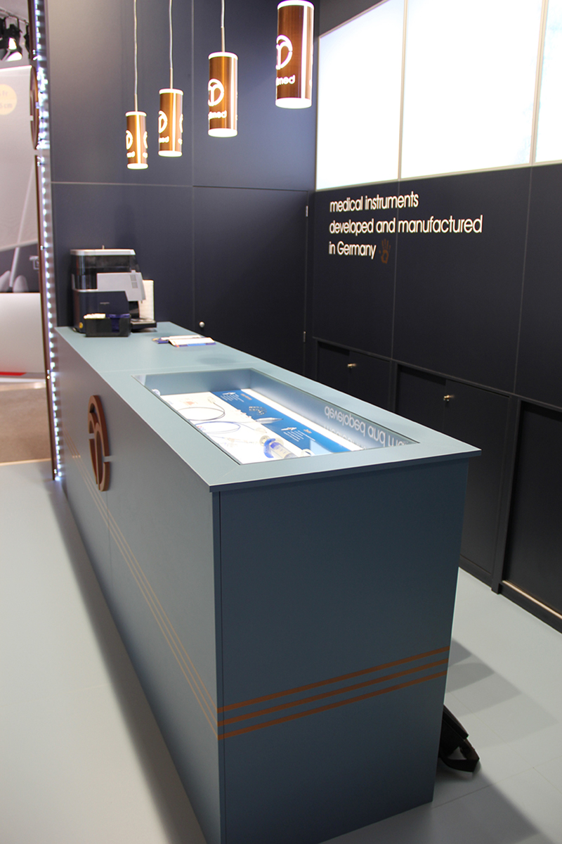 Exhibition booth - Joinery - example 2