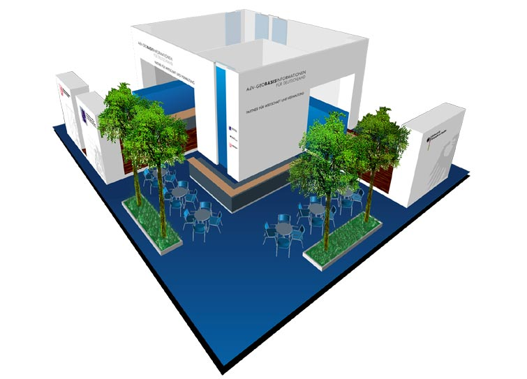 Exhibition booth - Designer booths - Design booth example 4