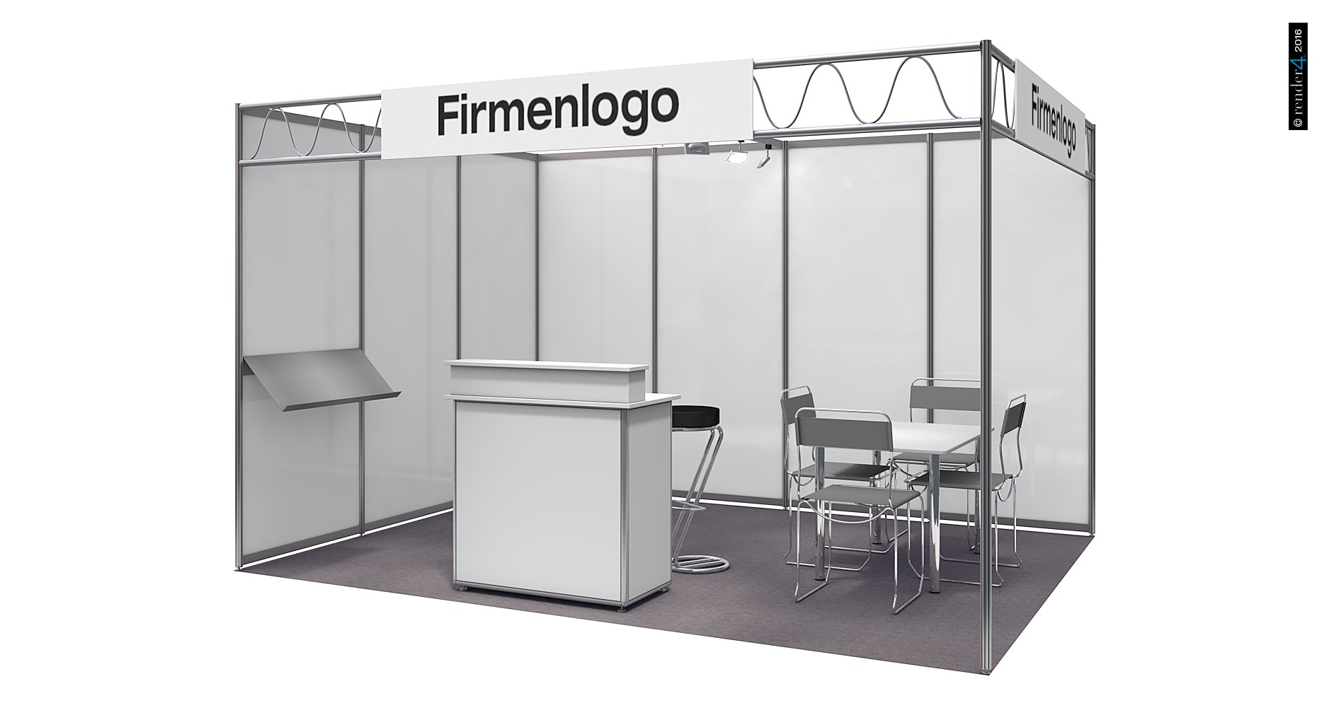 Exhibition booth - Basis booths - Comfort